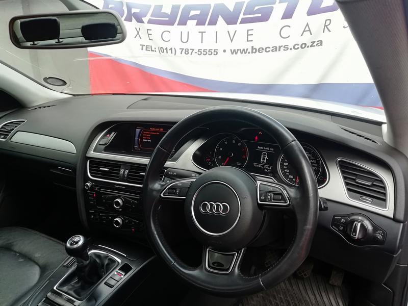 2016 Audi A4 1.4TFSI