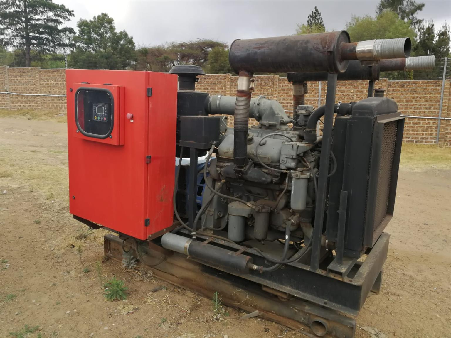 100kva Detroit Generator Backup Power