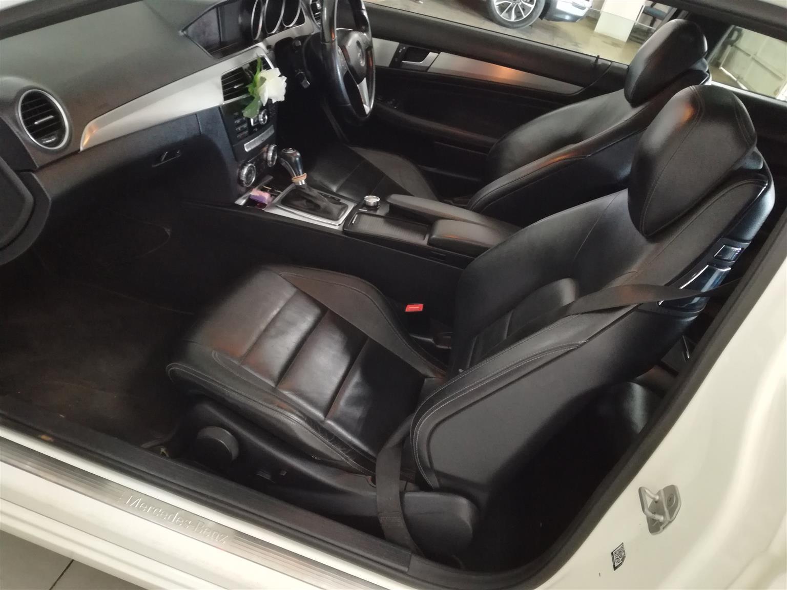 2012 Mercedes-Benz Coupe C250 Auto Blue Efficiency