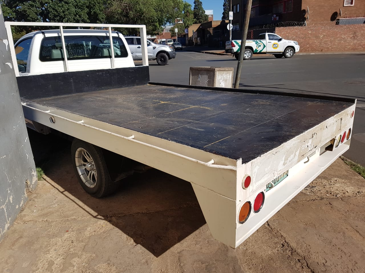 Toyota Hilux 2011 Flat Bed Load Bin For Sale