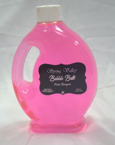 Spring Valley Bubble Bath Petal Bouquet 2L