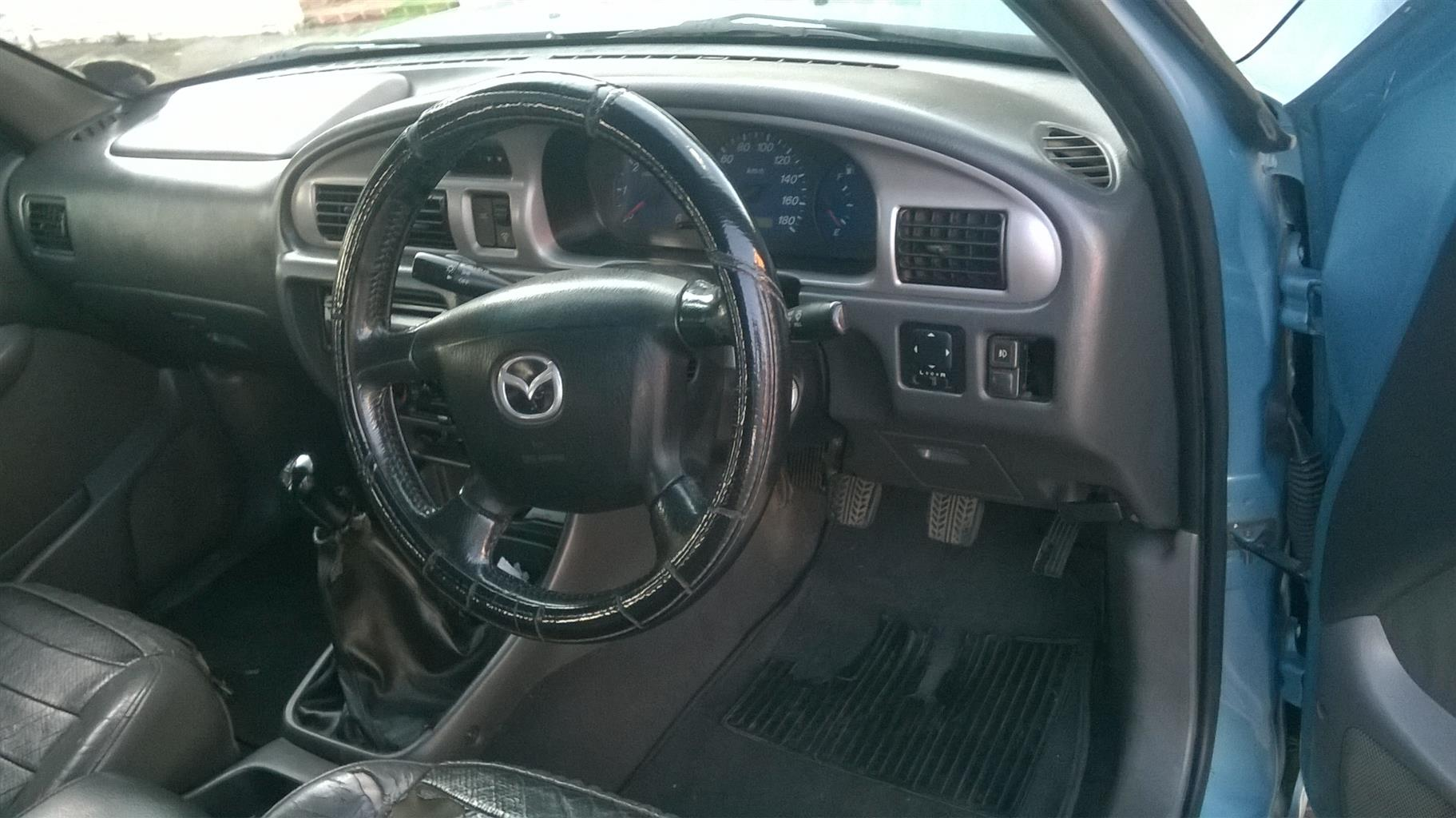 2004 Mazda Drifter B2500TD 4x4 double cab SLE