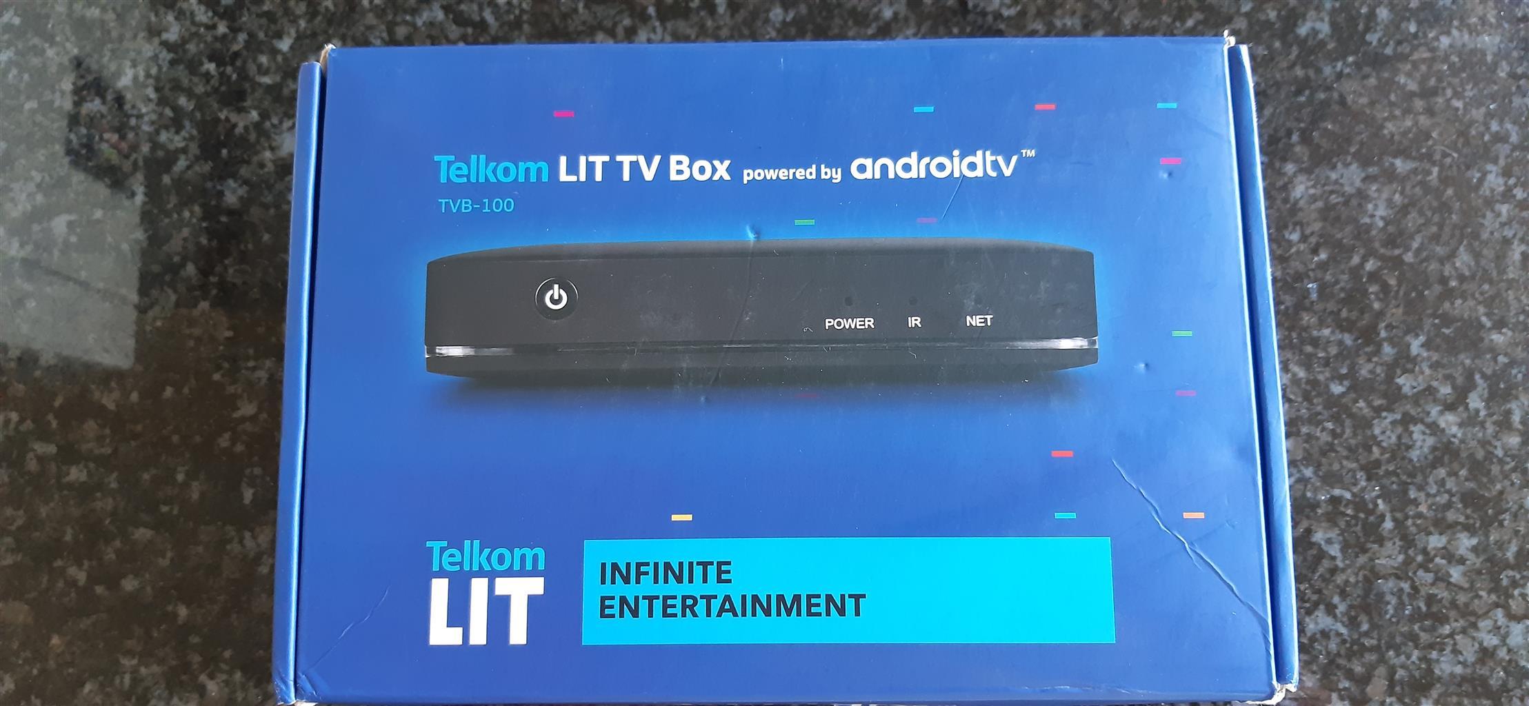 Streaming tv box Telkom TBV-100