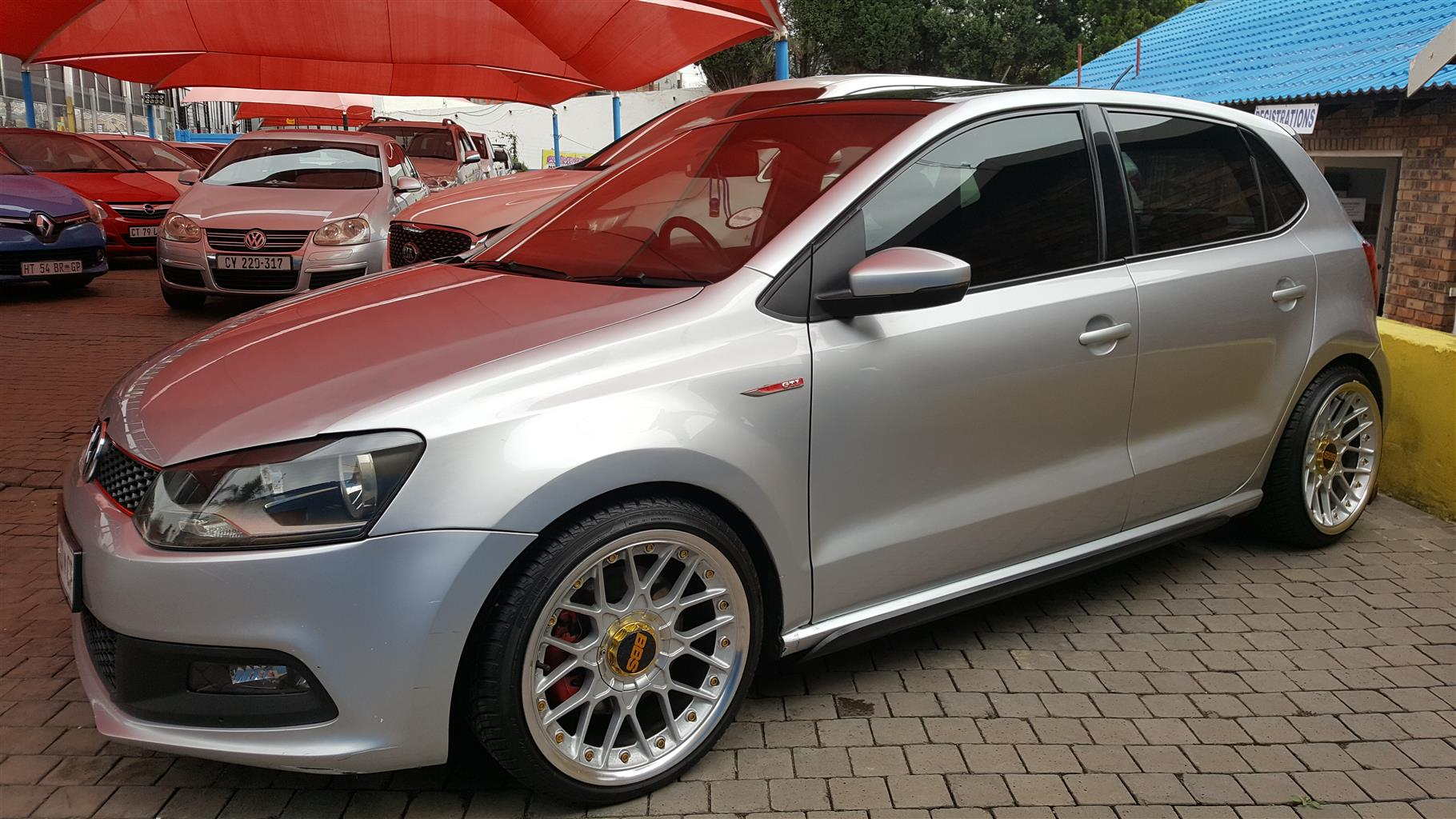 2015 VW Polo 1.8 GTI