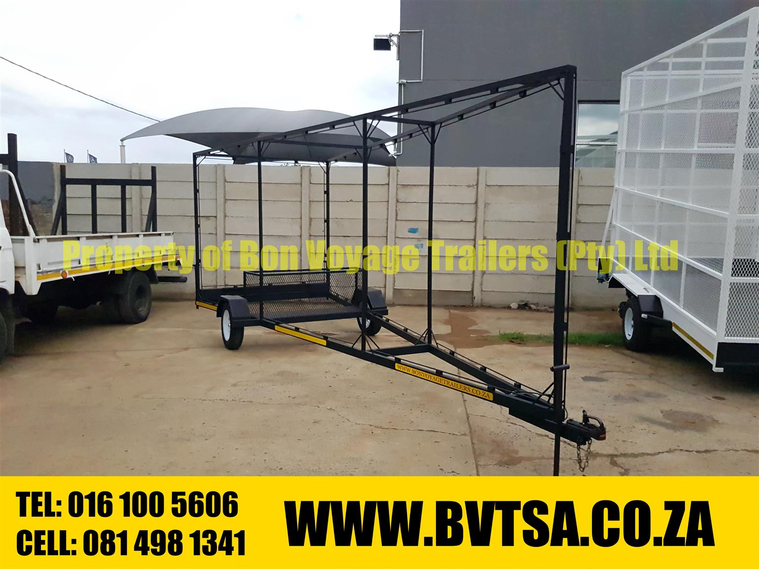 Large Billboard Trailer For Sale