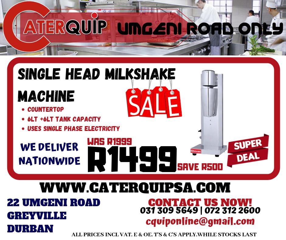 Single Head Milkshake Machine Sale