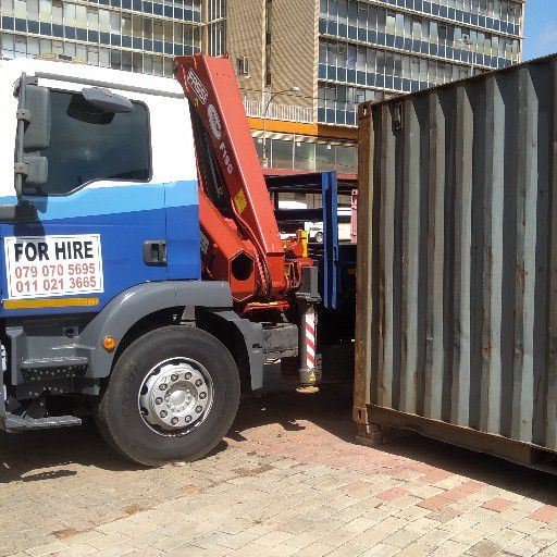 Shipping container 6 M
