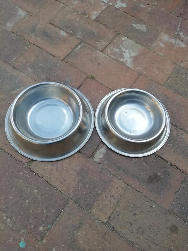 Dog food and water bowls for sale
