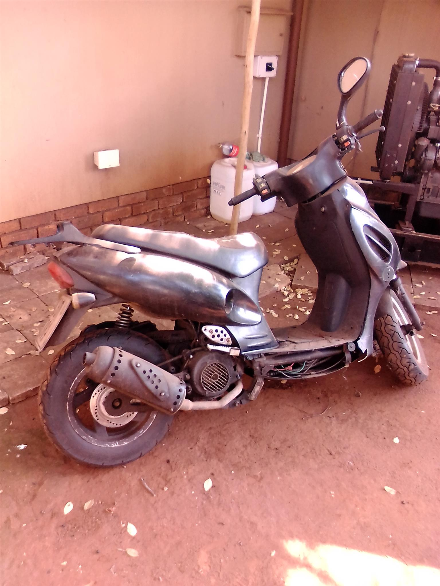125cc Scooter Engine