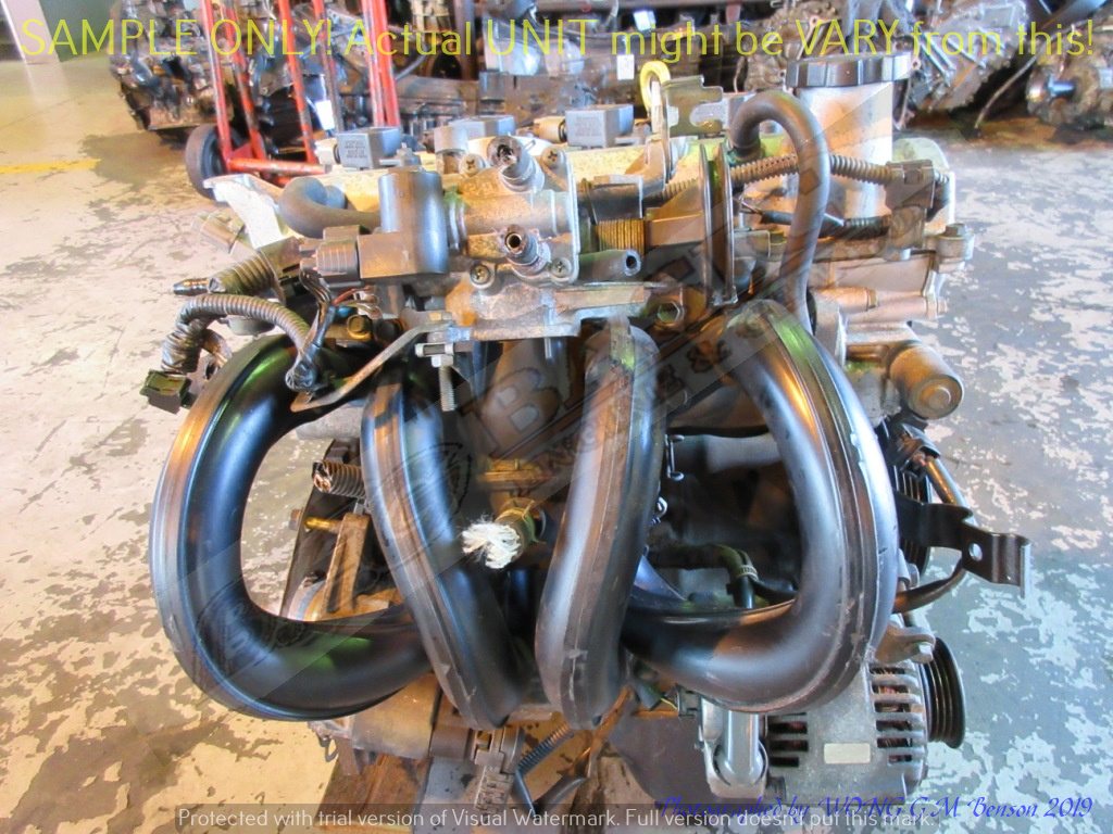 TOYOTA 1SZ 1.0L VVTI DOHC 16V Engine -YARIS