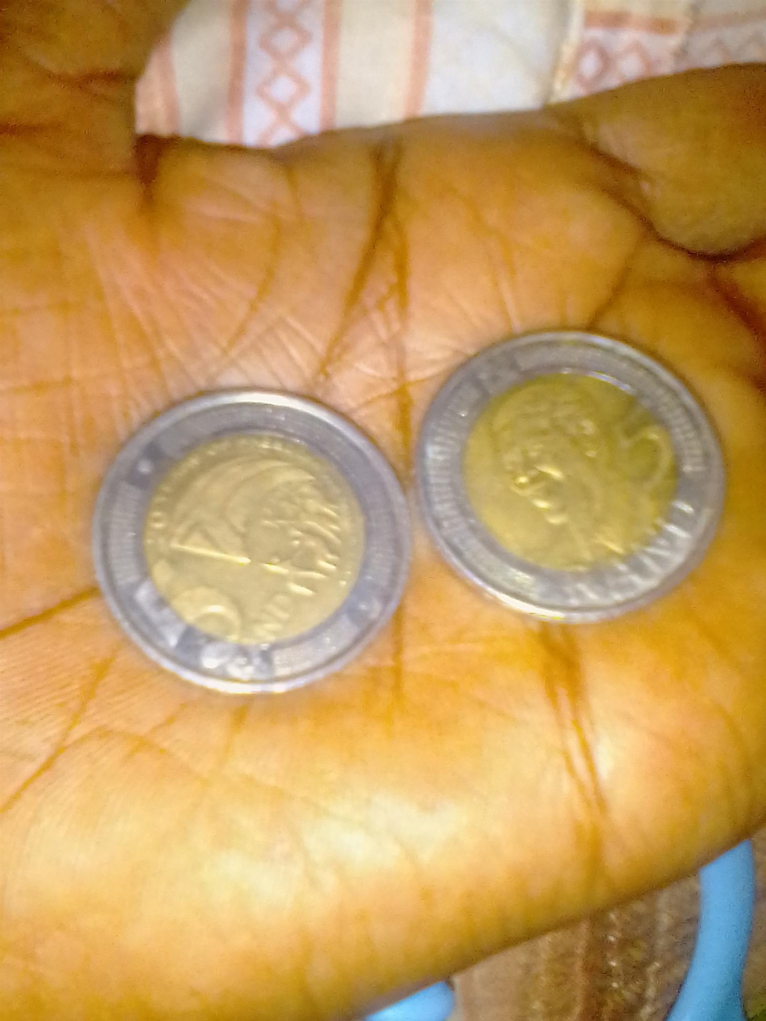 Mandela's coins