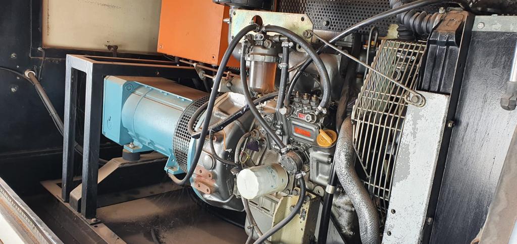 3 generators for sale as is 20kva yanmar 40kva perkins 40kva yanmar
