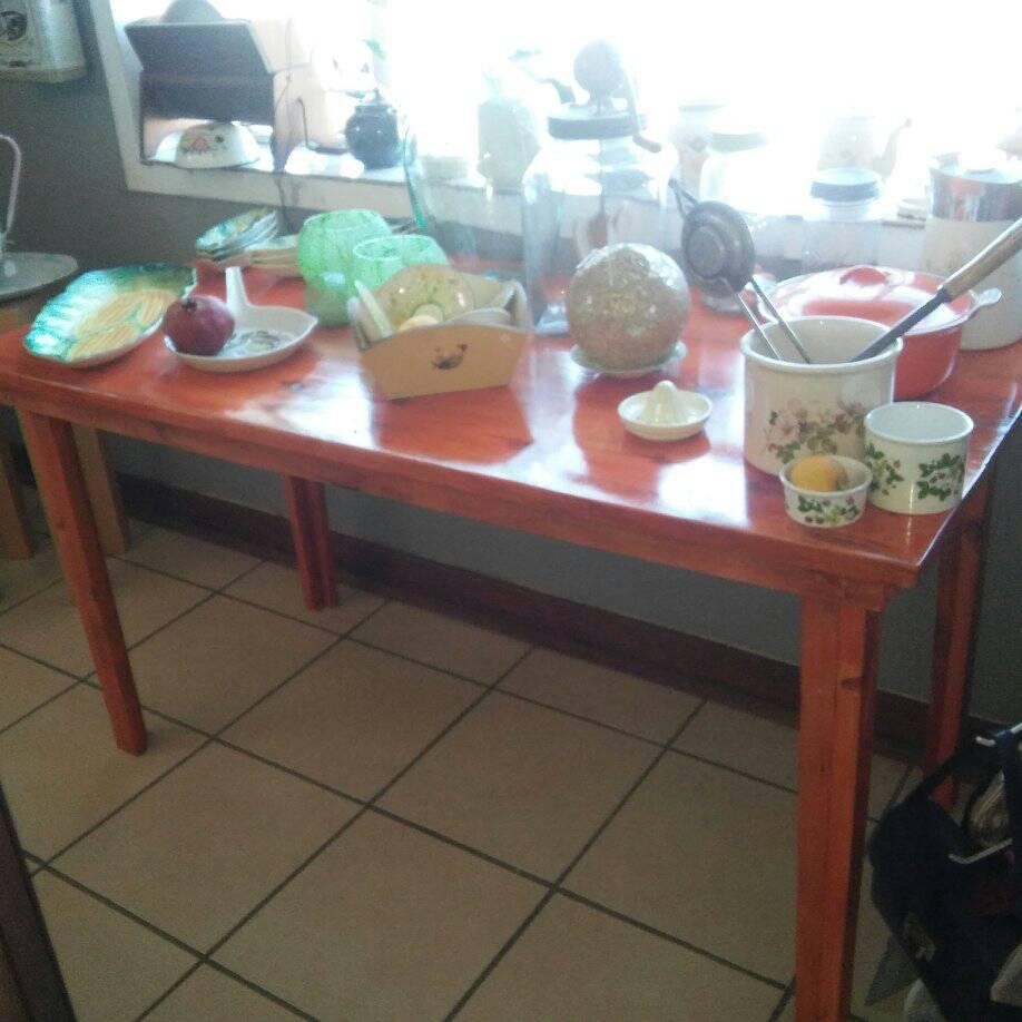 New Wooden Kichen Table For Sale Junk Mail