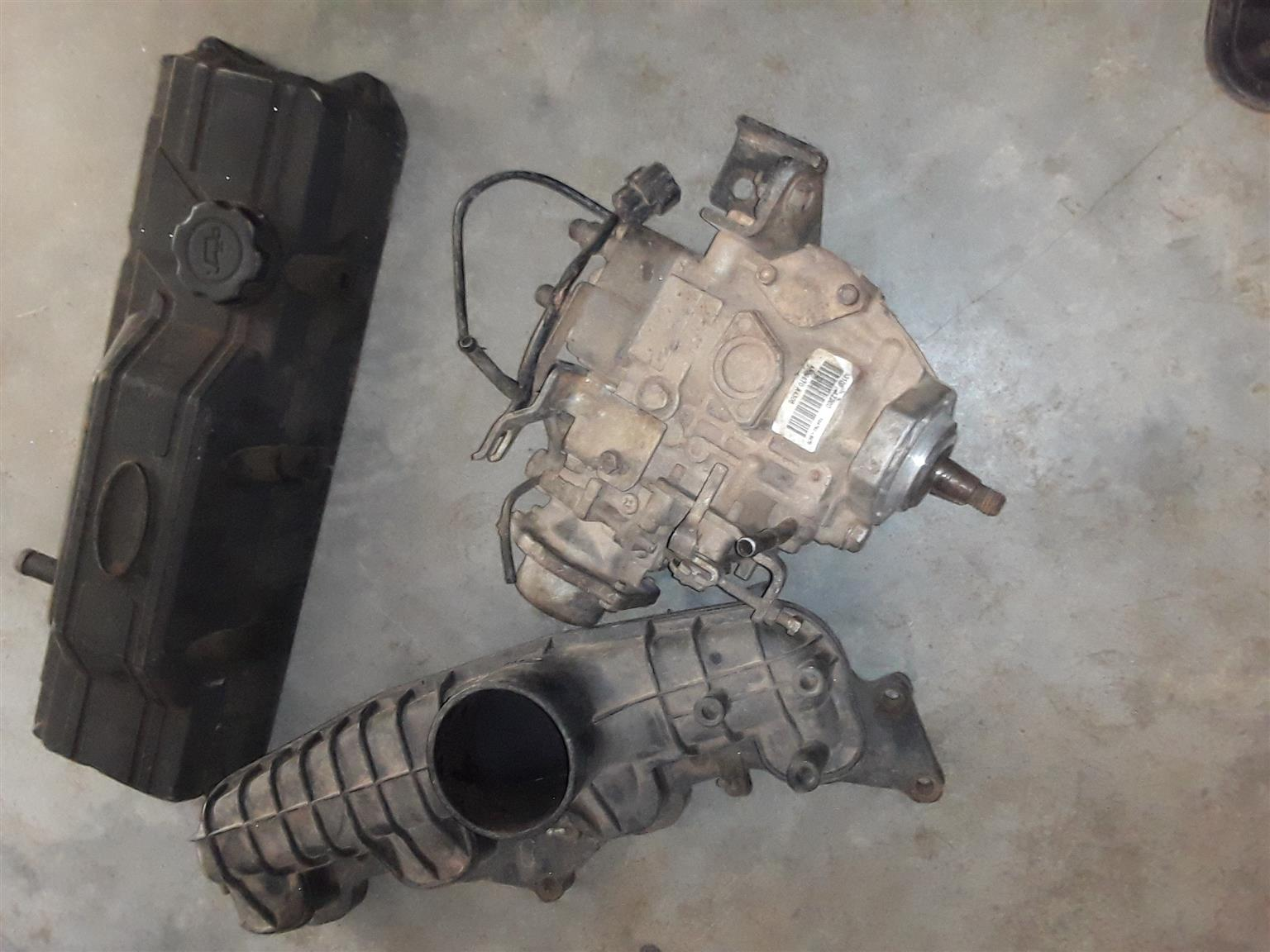 Diesel Pump, Tappet Cover & Inlet Manifold