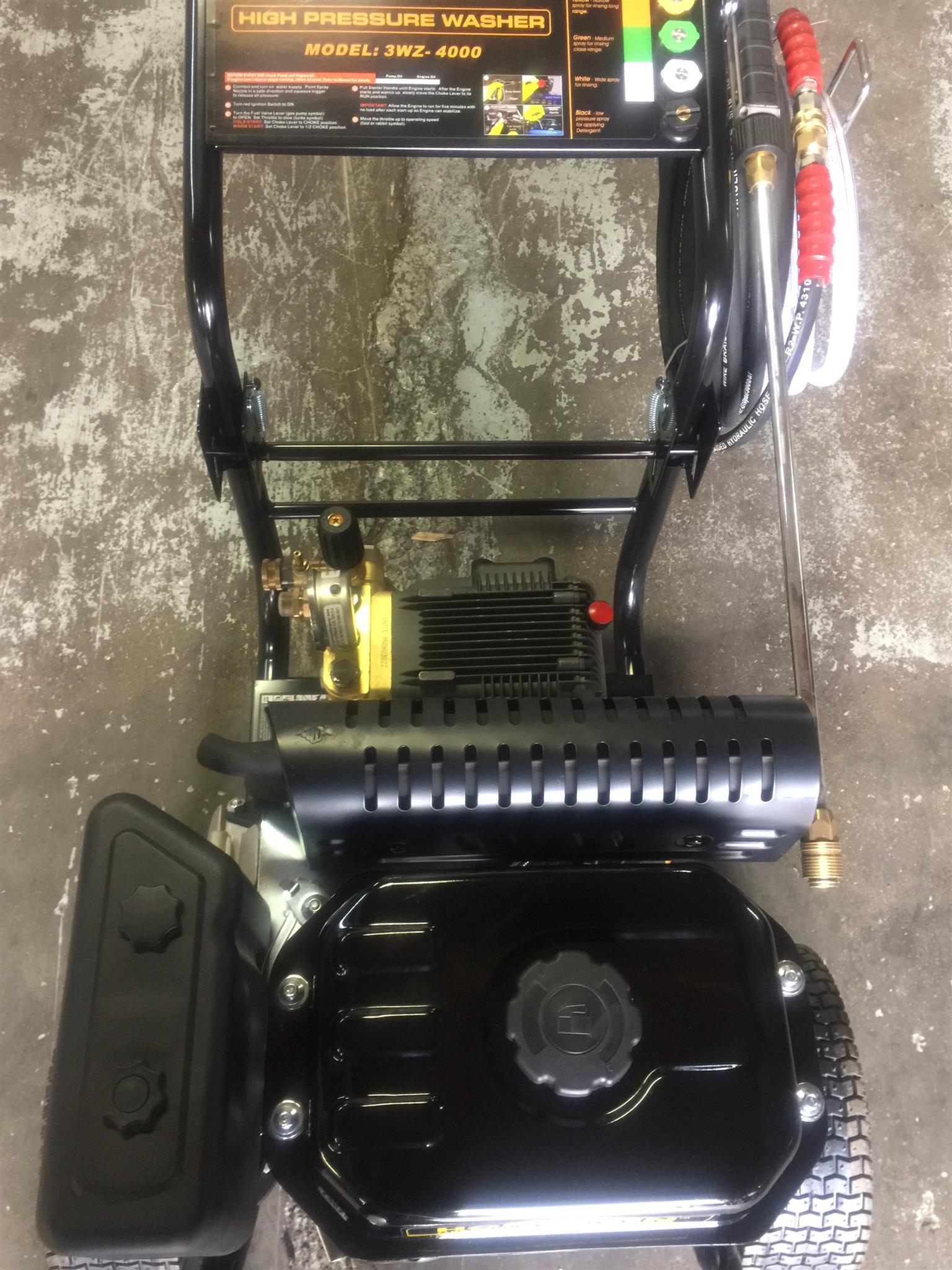 248 bar petrol high pressure washer specials