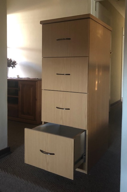 For Sale Oak Filing Cabinet