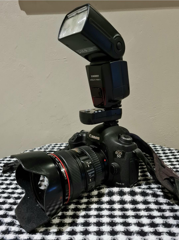 Canon 5D markIII professional photography combo
