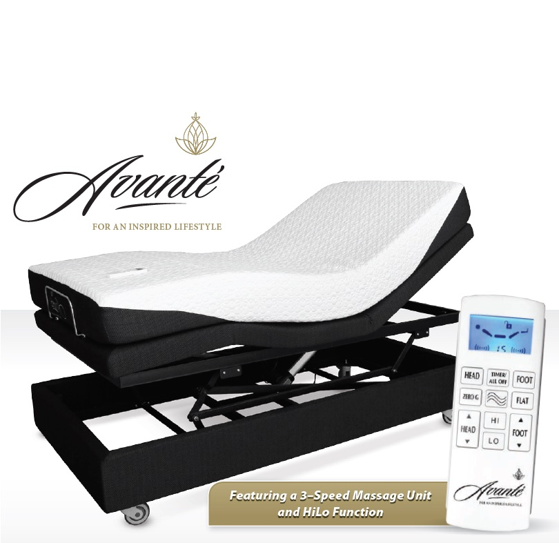 Electric Adjustable Bed - SmartFlex 3 - with massage function, FREE DELIVERY. While Stocks Last