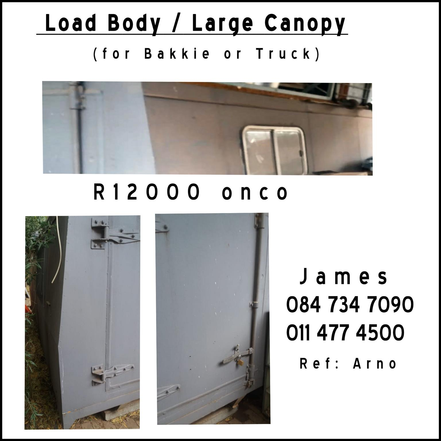 Load Body / Large Canopy