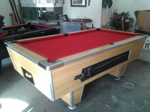 Tremendous Coin Operated Pool Table Home Interior And Landscaping Ologienasavecom