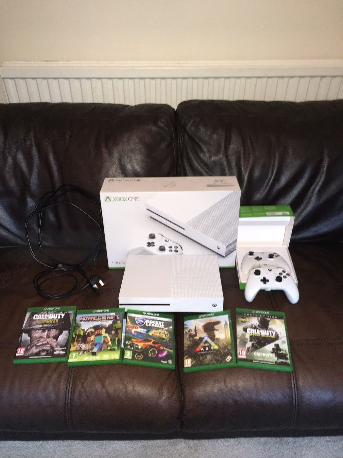 Make your kids happy this xmas period get the brand new XBox One S 1TB , 2  controllers , 5 games | Junk Mail