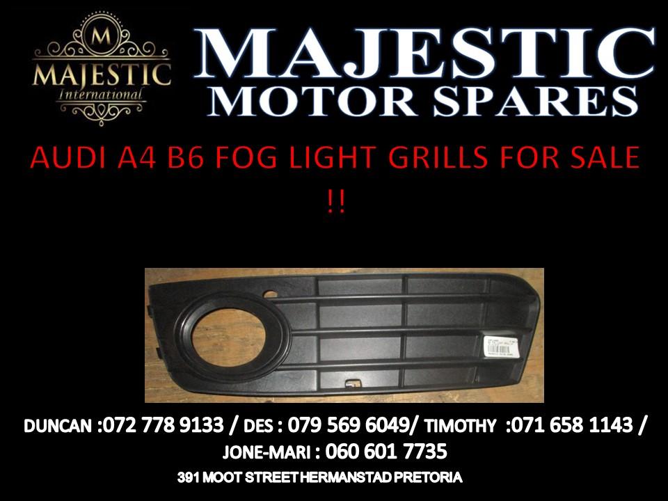 Audi B6 Fog light grills for sale !!