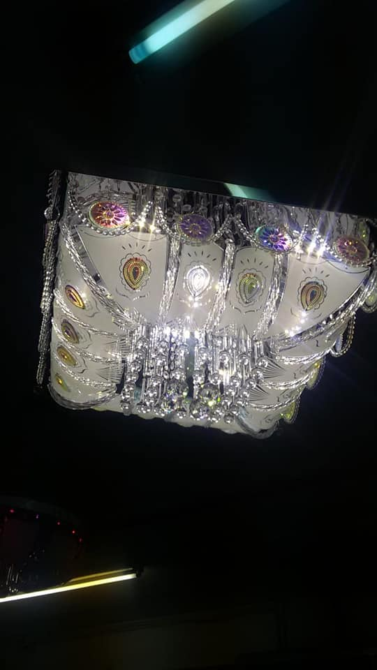 White ceiling chandelier for sale