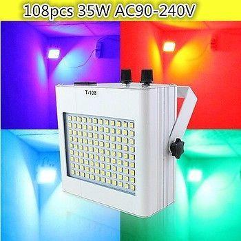 Led Strobe Lights 108pcs Smd 5050 Dj Disco Party Ktv Disco Strobe Light Professional Stage Lighting