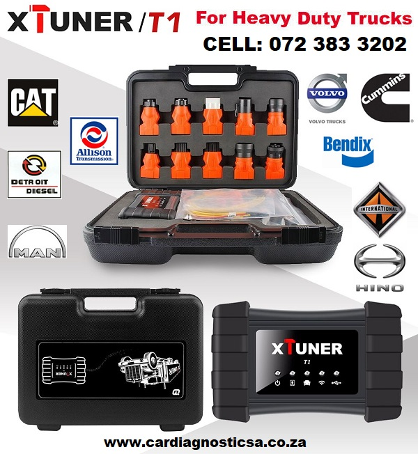 TRUCK DIAGNOSTIC XTUNER T1 Heavy Duty Trucks Auto Intelligent Diagnostic Tool Support WIFI