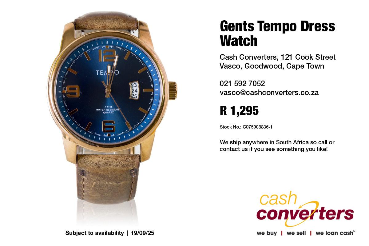 Gents Tempo Dress Watch