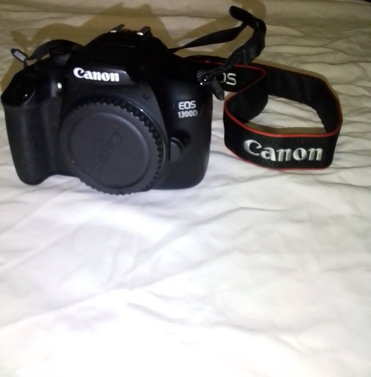 Canon camera with all accesories