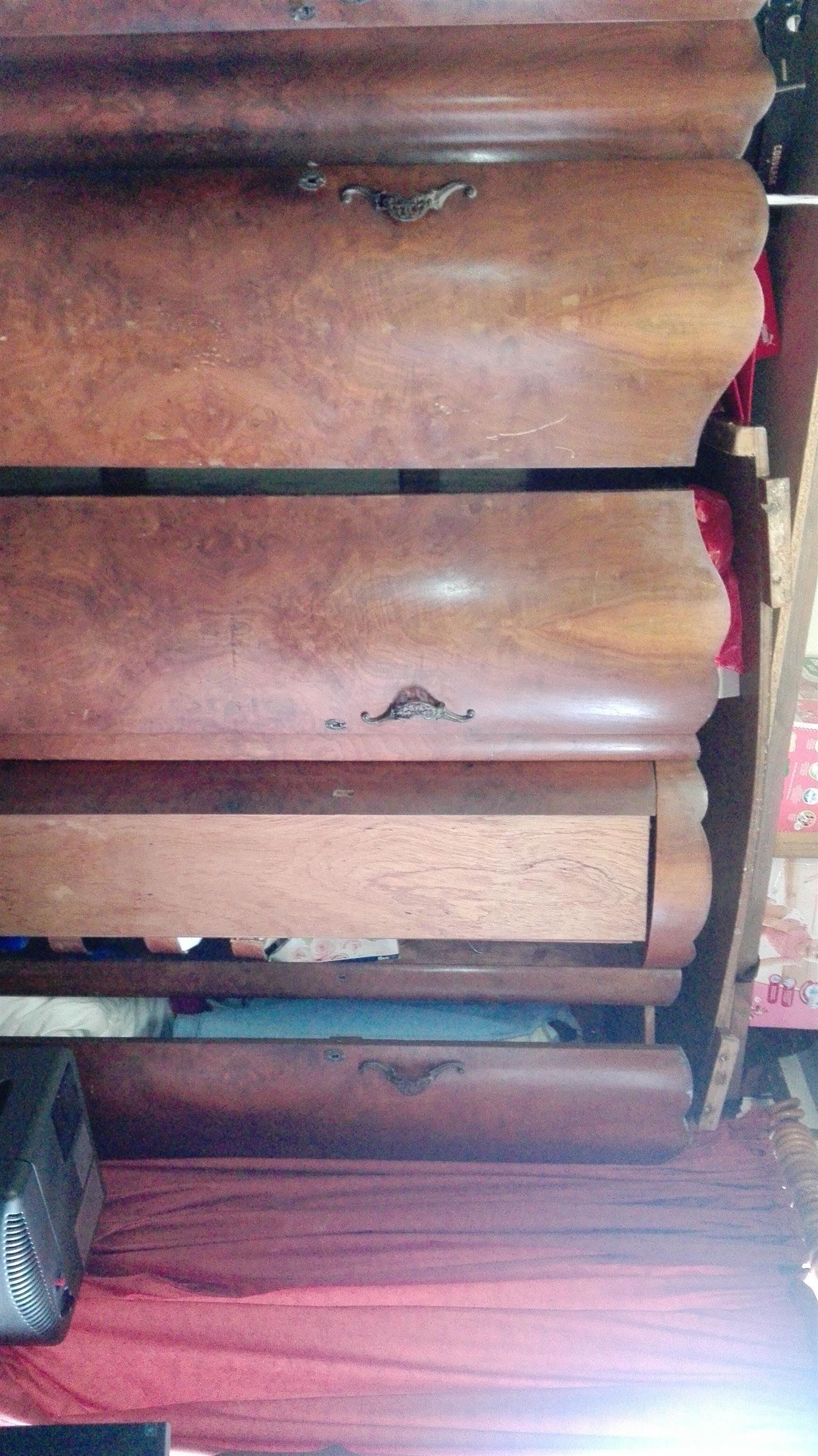 Walnut bedroom suite