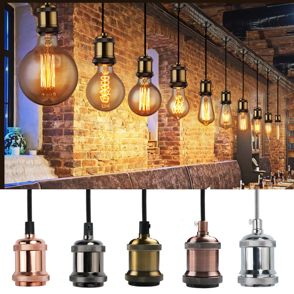 Pendant Ceiling Light Fittings: Retro Vintage Antique Rustic Design. Brand New Products.