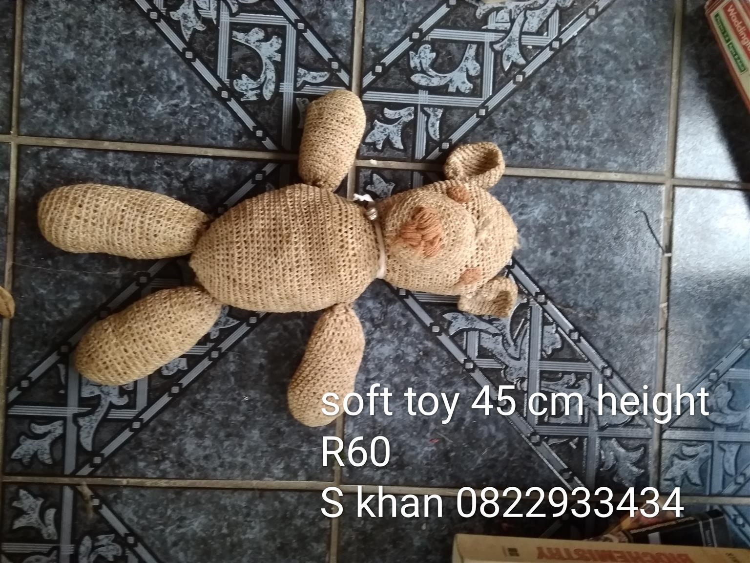 DOLL AND TEDDY FOR SALE