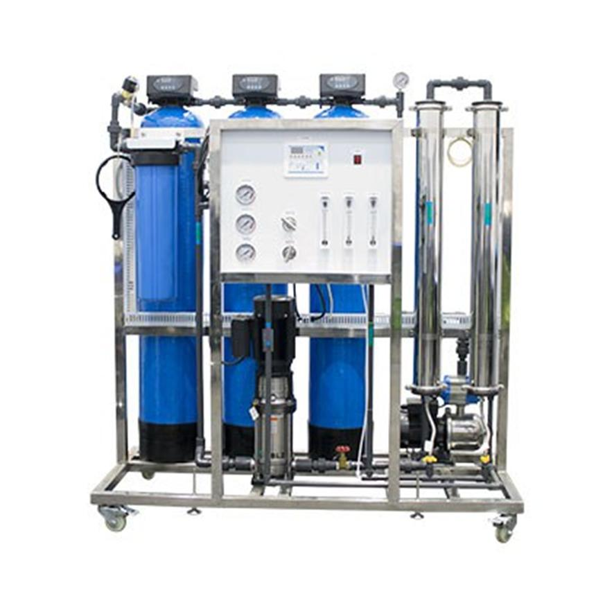 Borehole Water Plants: Complete Household System on Skid 12000 L P/D (500 L P/H)