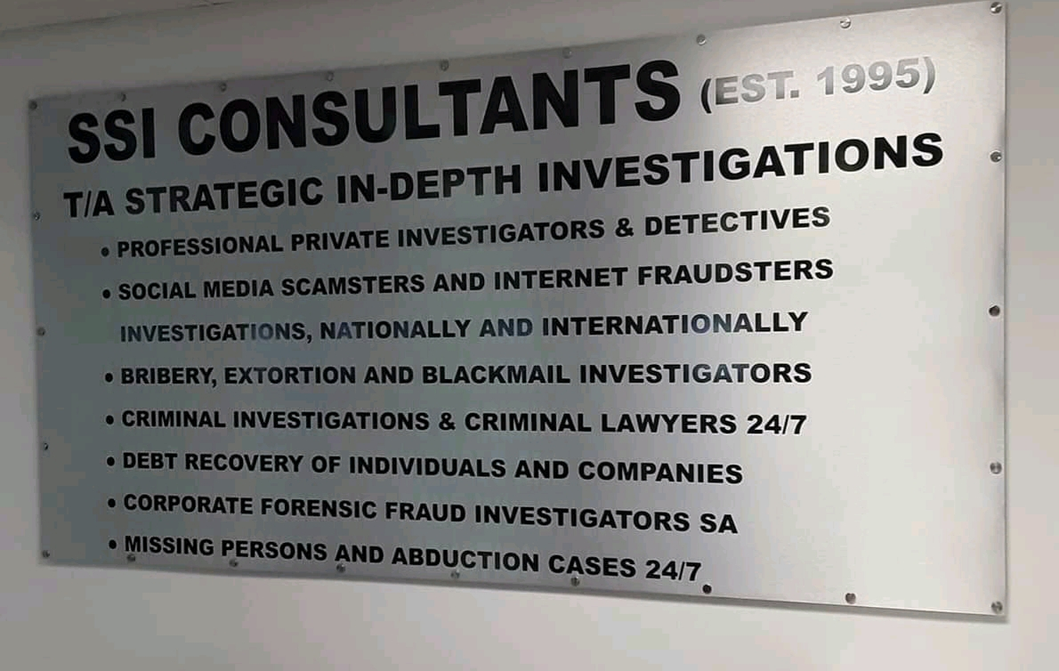 PRIVATE INVESTIGATORS 24/7AND SPECIALISTS PRIVATE DETECTIVES IN MPUMALANGA 0780071412