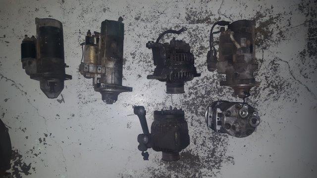 Starters, Alternators, Power Steering Pump, Aircon Compressor