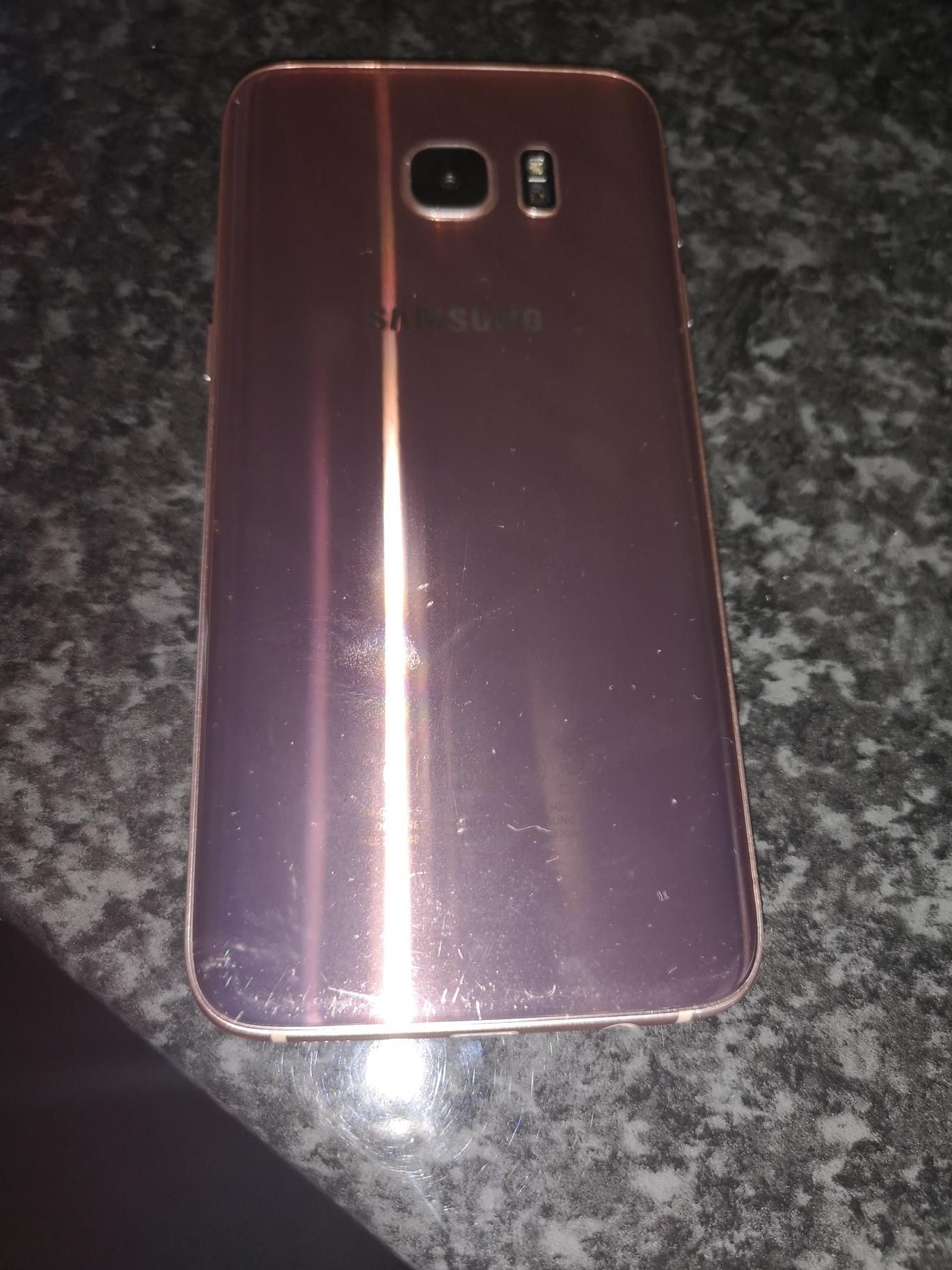 Samsung S7 Edge Junk Mail Galaxy 32 Gb Smartphone Coral Blue