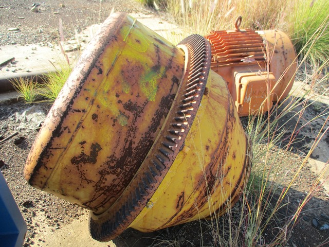 Turner Morris Concrete Mixer Drum - ON AUCTION