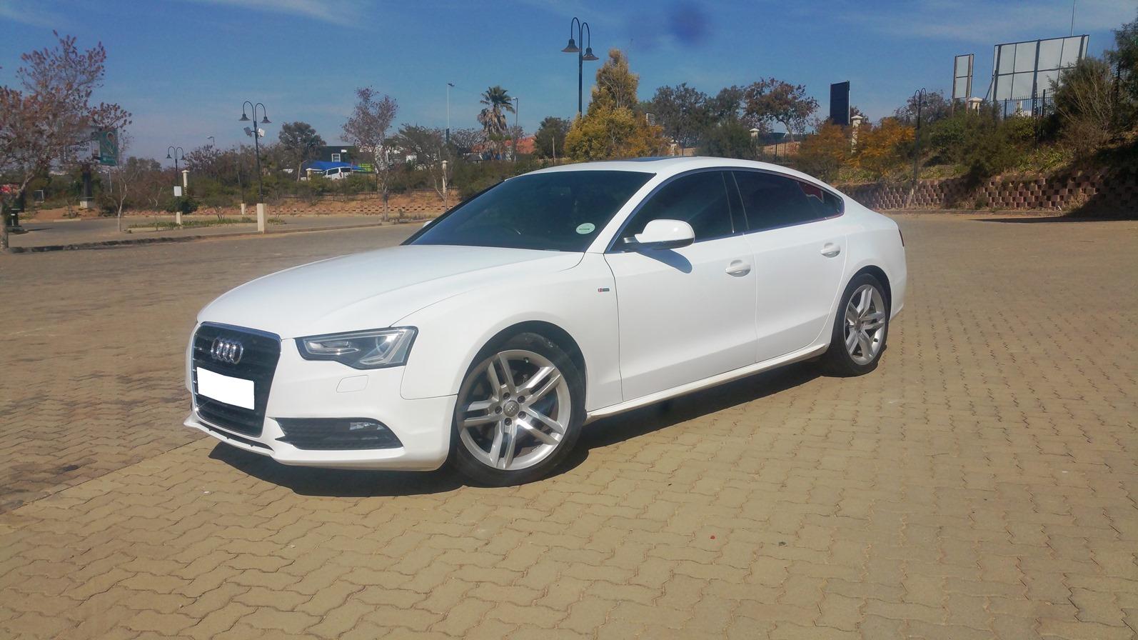 2012 Audi A5 Sportback 20tdi Sport S Line Sports Junk Mail