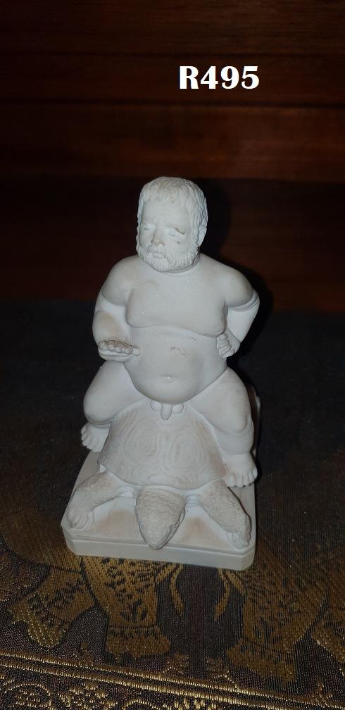 G Ruggeri Nano Morhante Dwarf on Turtle No 2(130mm high)