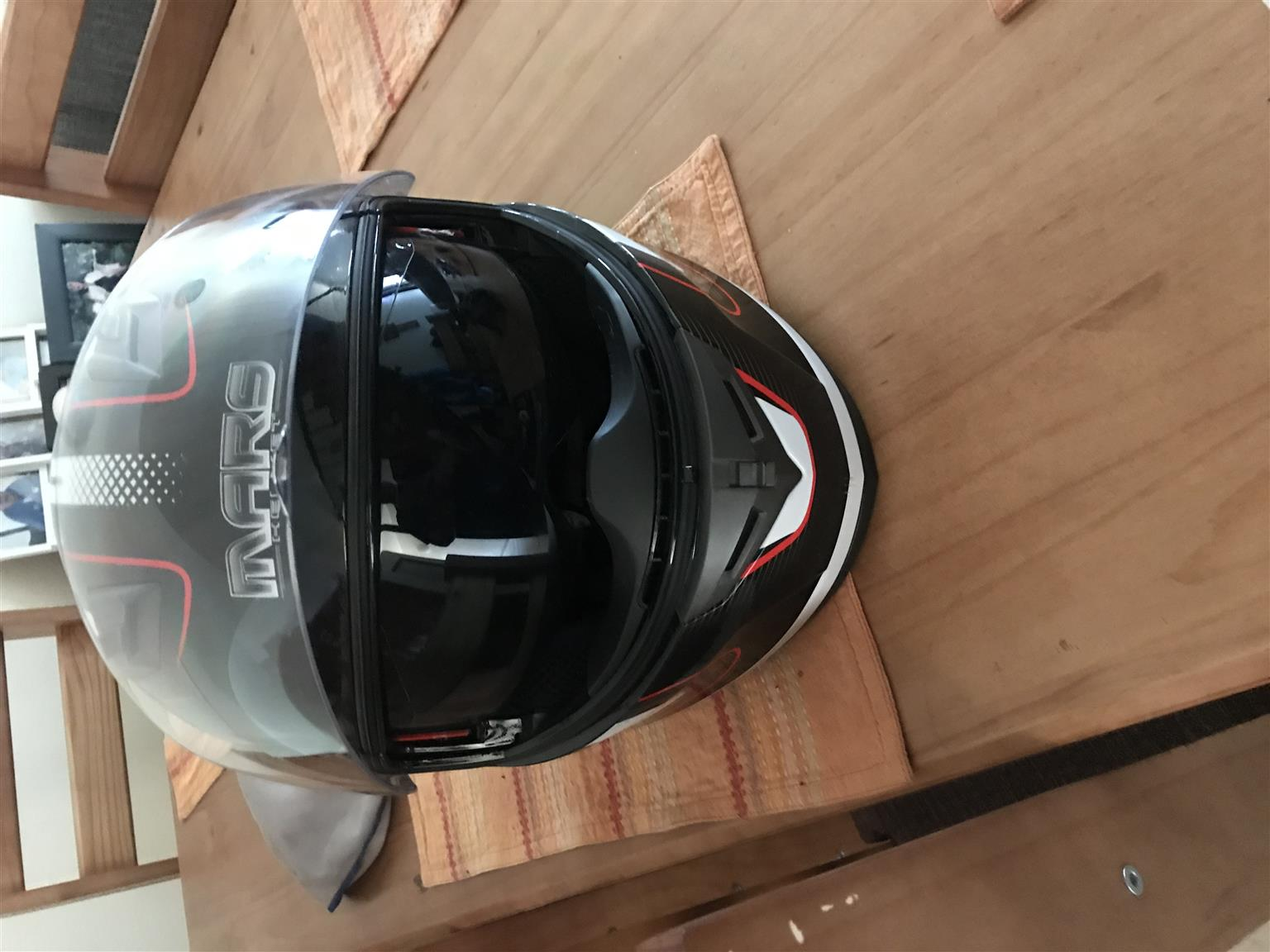 Shark helmet and protective jacket