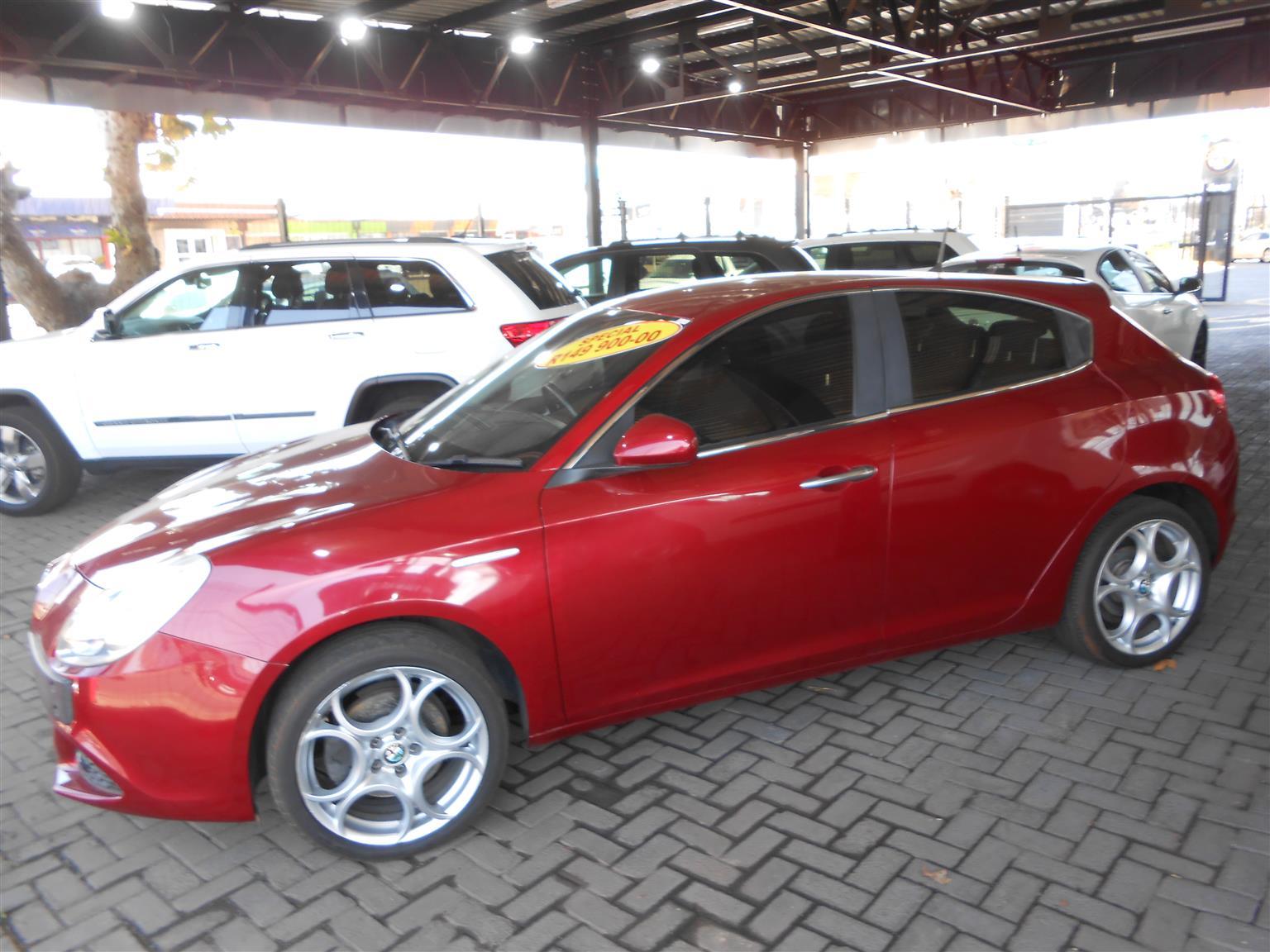 2014 Alfa Romeo Giulietta 1.4TBi Distinctive