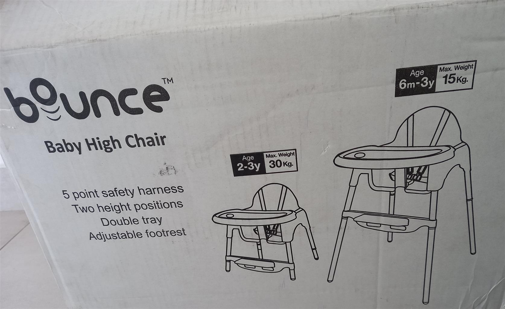 Baby Bounce Feeding Chair
