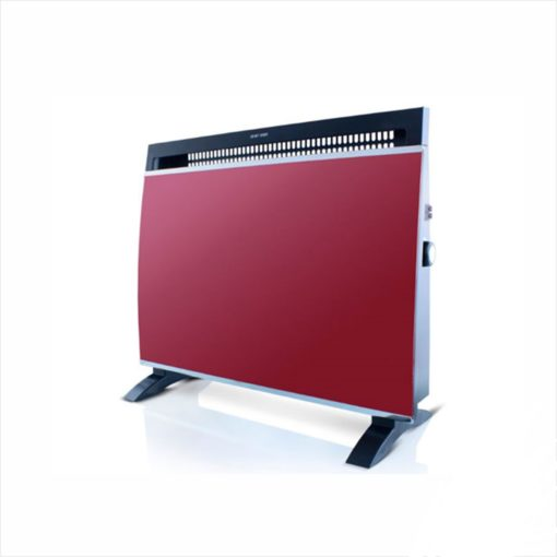 Taurus Electric Glass Heater Red