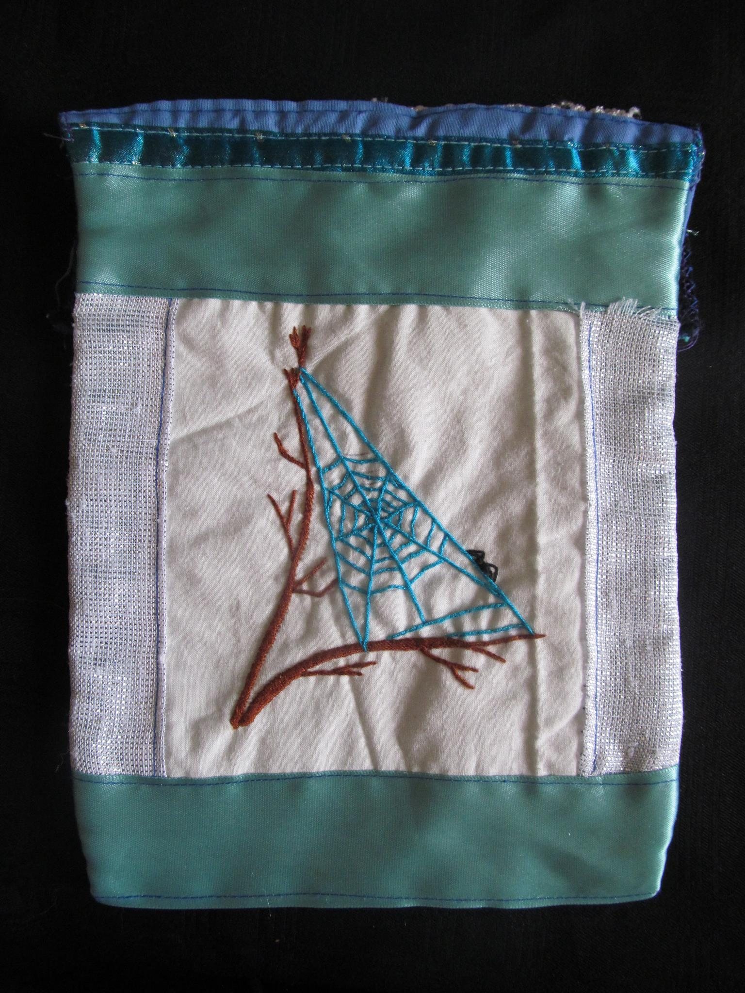 Small Hand Embroidered Pouches and bags