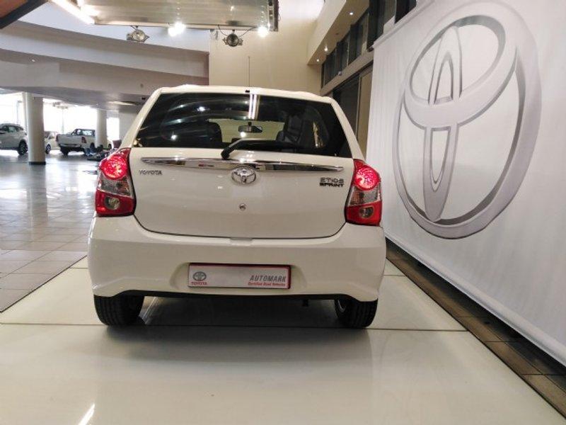 2017 Toyota Etios hatch 1.5 Sprint