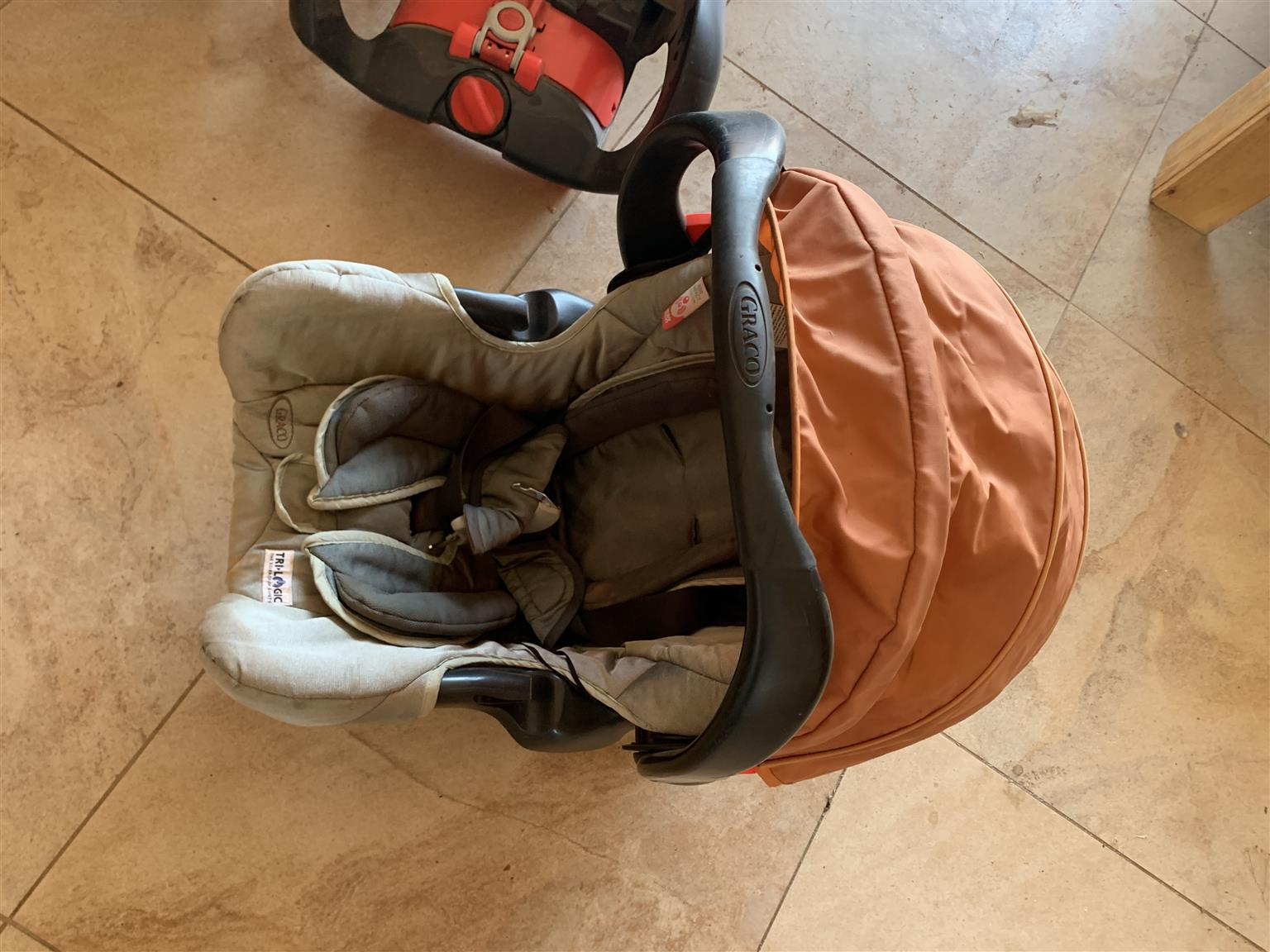 Graco travel deluxe system