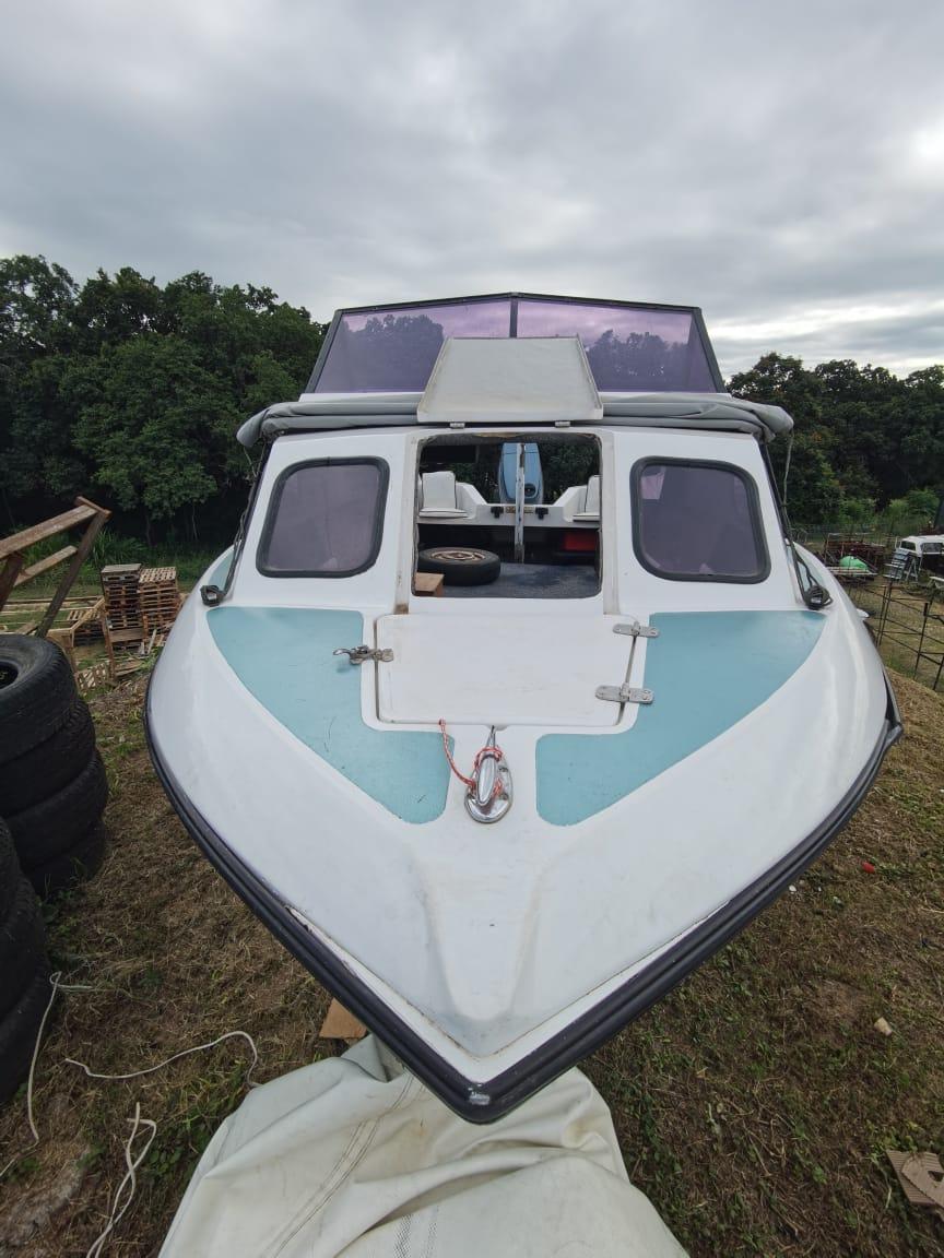 Lindenburgh Open cabin riverboat