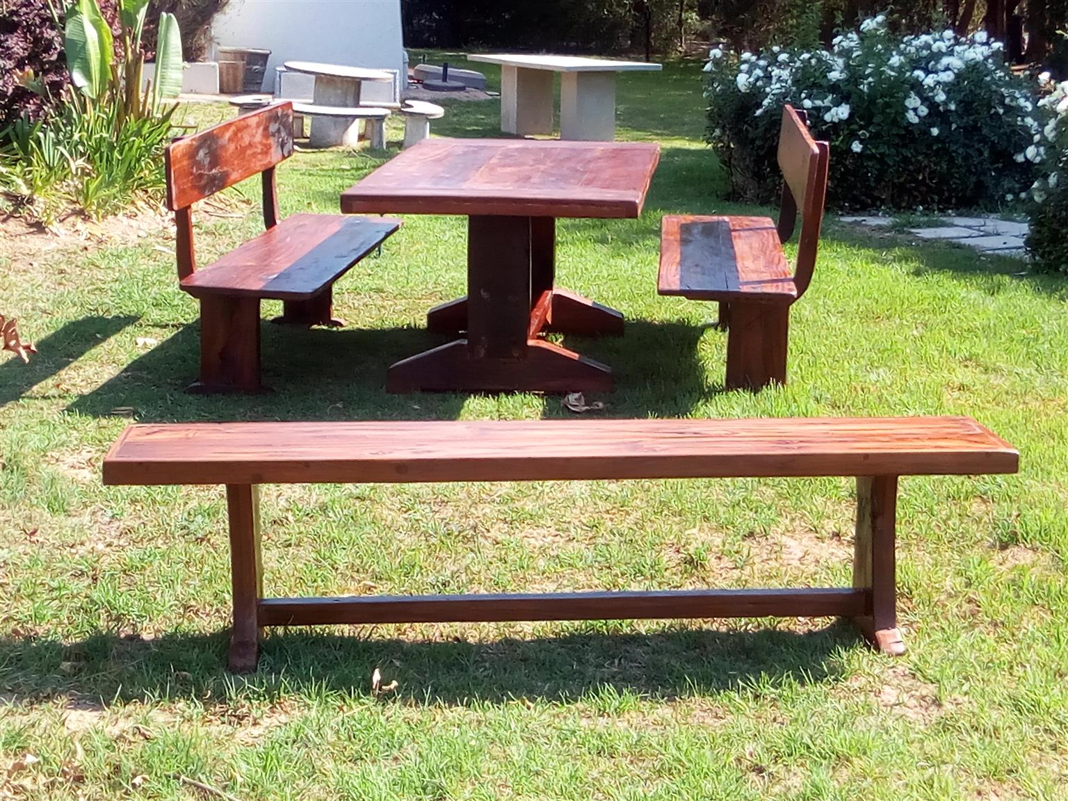 Patio Dining Tables and Benches